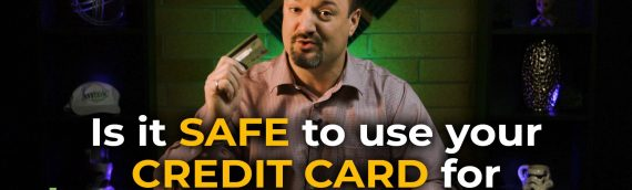 Is it safe to use your credit card for online purchases