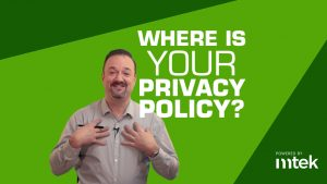 Privacy Policy need Search Rank