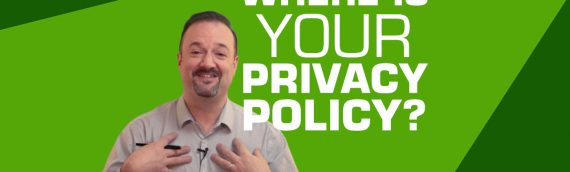 Easily create a free privacy policy. Every website needs one!